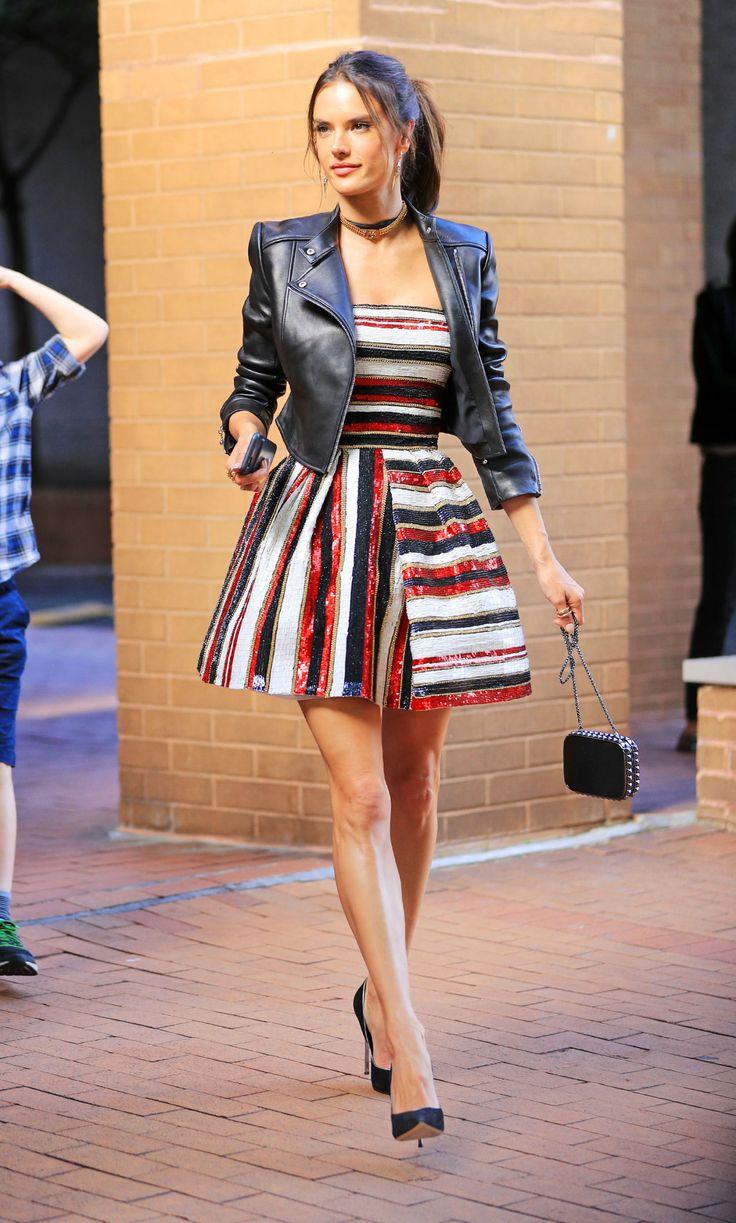 Emma Stone Pairs Her PJ Shirt with Dark Denim
