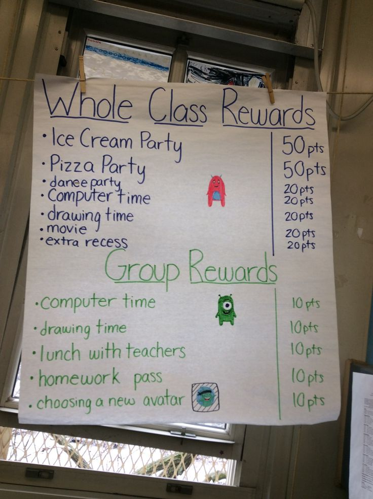 Check out these great whole class and small group Classroom Dojo rewards! -- Bianchimano & Berman, PS 396