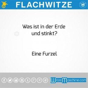 Flachwitze - Unlustig - Sprüche - Sparwitze - Furzen