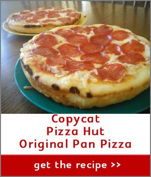 Pizza Hut Pan Pizza for Mom