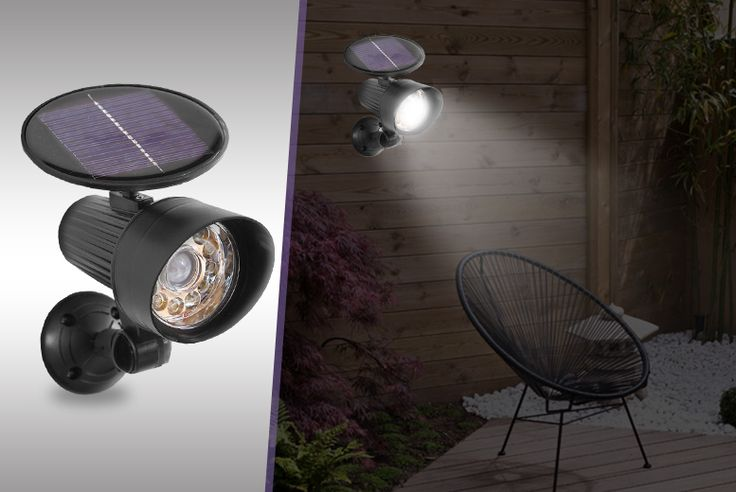 2 All-in-One Solar Lights