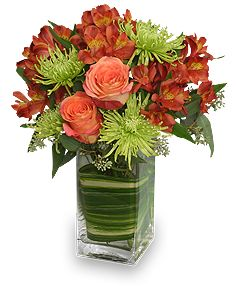 CONTEMPORARY AUTUMN Flowers | Fall Flowers | Flower Shop Network