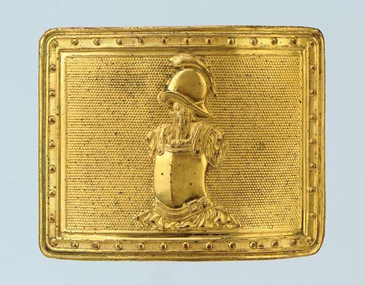 plaque d'officier du Génie -1804