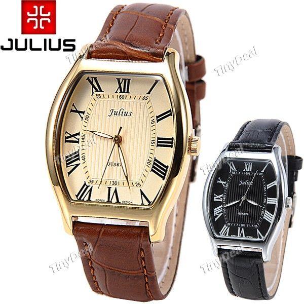 http://www.tinydeal.com/it/julius-genuine-leather-band-quartz-wrist-watch-for-man-p-116672.html  (JULIUS) Genuine Leather Band Quartz Watch Wrist Analog Watch Timepiece
