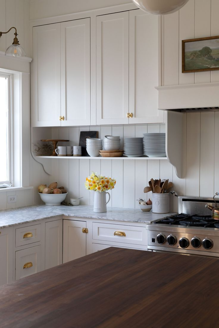 Our Best Tips For Styling Open Shelves In The Kitchen The Grit And Polish In 2020 Interior Design Kitchen Kitchen Interior Kitchen Remodel