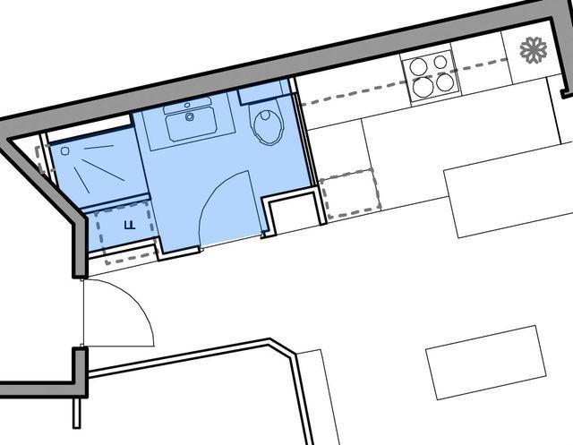 Plan sdb 4m2 plan salle de bain zen mansarde with plan for Salle de bain 4m2 en longueur