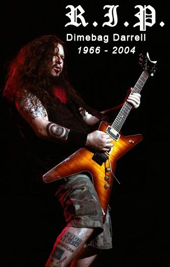 Dimebag Darrell (Pantera, Damageplan, Rebel Meets Rebel)