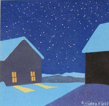Sabra Field Winter Lights