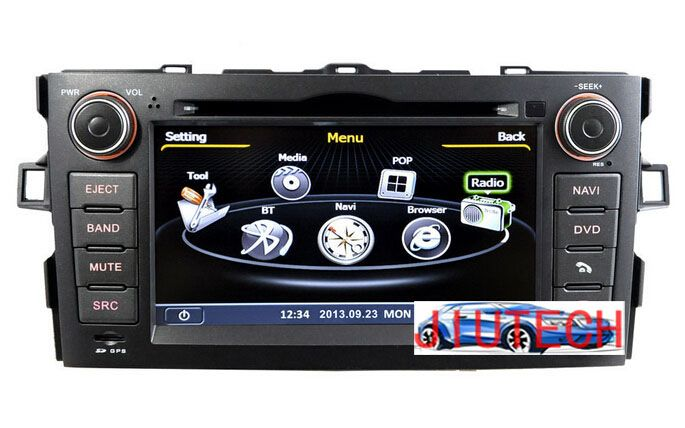 """Car audio GPS 3G for Toyota Auris Corolla,Totoyta Corolla Car DVD Player GPS with BluetoothBT/DVD/ATV/FM/AM/RDS/3G/WIFI/USB/SD"""