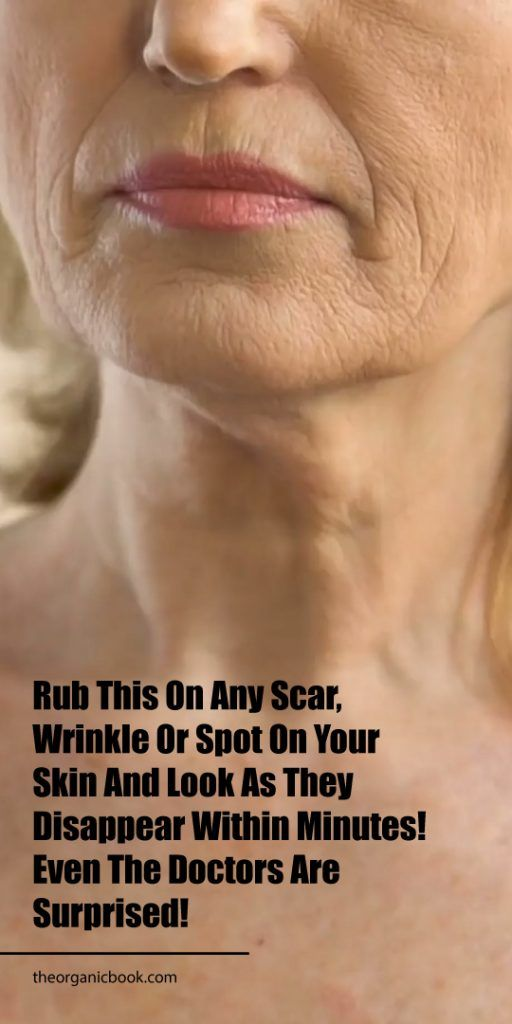 Rub This On Any Scar, Wrinkle Or Spot On Your Skin And Look As…
