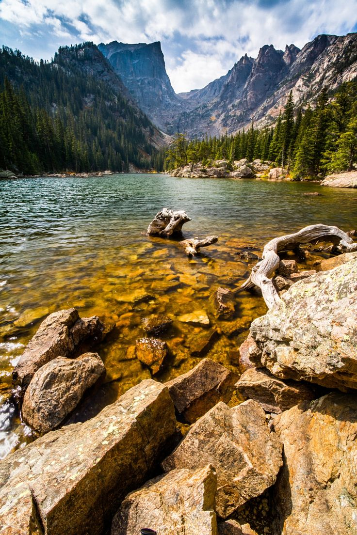 Photograph Rocky Shores - Dream Lake by Darrin Luke on 500px