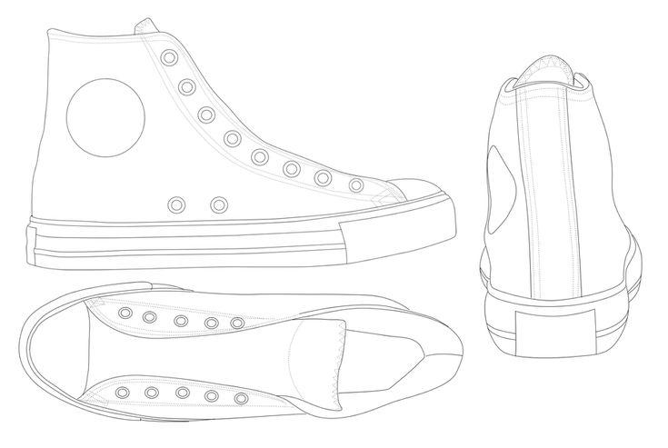 teken je schoen