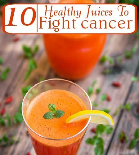 10 Healthy Juices For Fighting Cancer - Noni, Carrot, Grapefruit, Pomegranate, Red grapes, Beet, Mangosteen, Soursop, Goji Berry, Blueberry