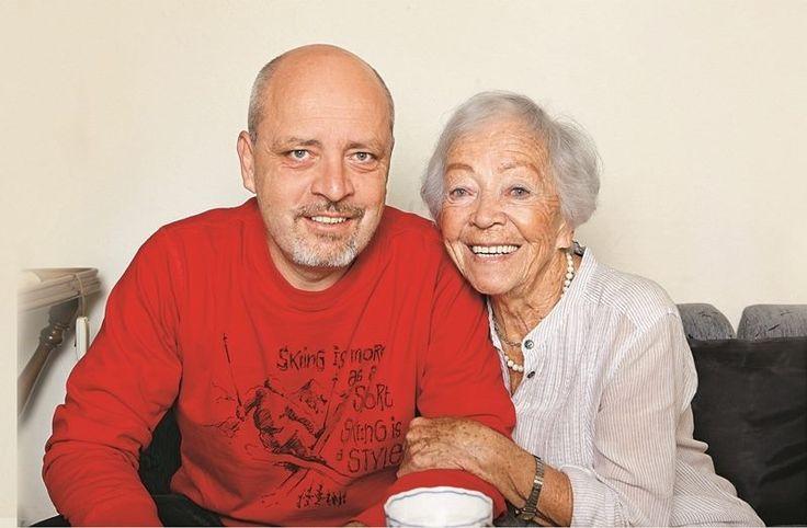 Eva Landlová so synom Matejom Landlom 2014