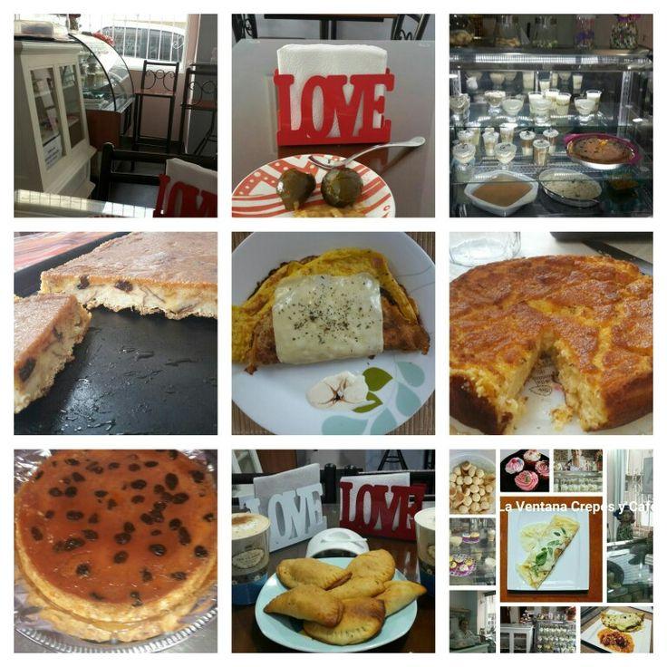 Postres. Crepes. Empanadas .Productos caseros. La Ventana Crepes y Cafe. Malaga
