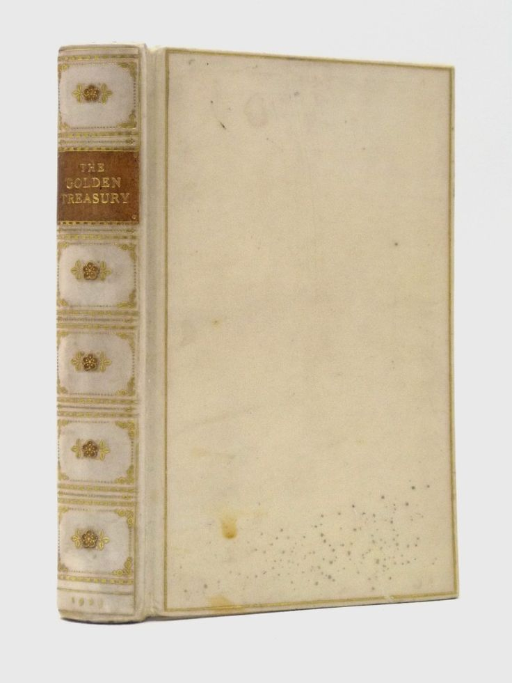 Palgrave's Golden Treasury - a delightful Bumpus vellum binding, a gift from the parents of Viscount Montgomery of Alamein