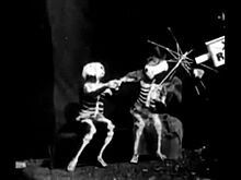 The X-Rays - Directed by George Albert Smith. Cited as one of the first examples of special effects by jump cut.