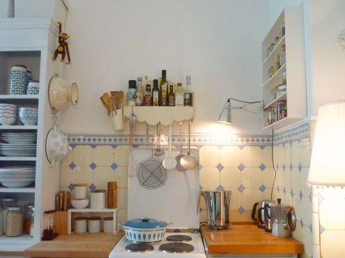 Die besten 25+ Blaues Küchendekor Ideen auf Pinterest blau - fliesen f r k chenspiegel