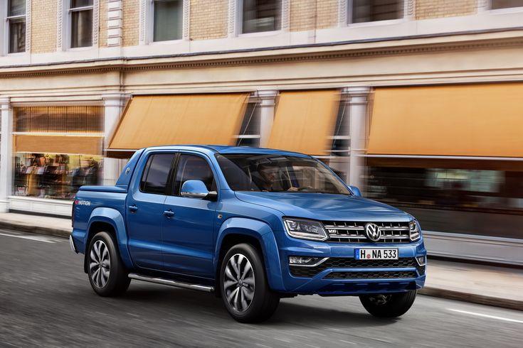 Volkswagen Amarok изменился внешне и обзавелся версией Aventura