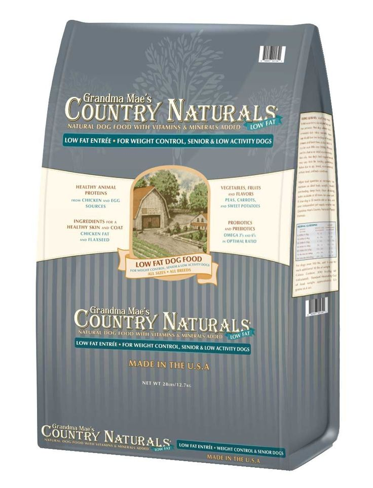 Country Naturals Dog Food - Low Fat Formula