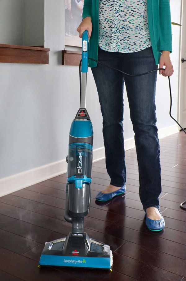 This Is My Favorite New Tool For Cleaning My Wood Floors In ONE STEP. Did.  Steam VacuumSteam MopBest ...