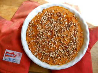 This Sweet Potato Casserole is a great substitution for pumpkin pie or any other festive dessert!