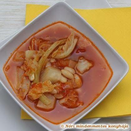 Nóri mindenmentes konyhája: Ribollita - toszkán zöldségleves