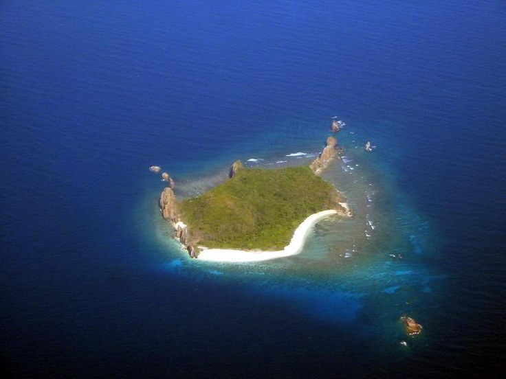 Turtle Island in Busuanga in the Philippines.