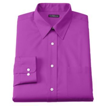 Men 39 S Croft Barrow Classic Fit Easy Care Point Collar