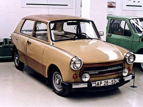 1965 AWZ Trabant P 602 V Prototyp
