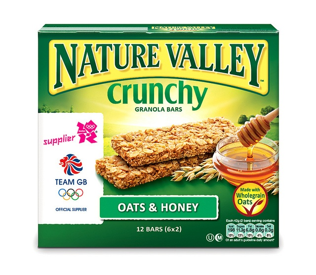 Nature Valley has announced the start of a UK marketing campaign to support the brand's sponsorship deal as the 'official cereal bar supplier' to the London 2012 Olympic and Paralympic Games. The new pack features the London 2012 Olympic Games logo on its packaging.