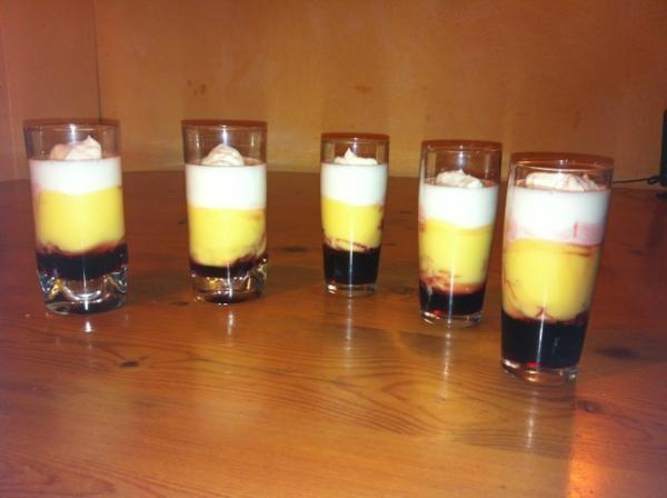 Traditional Dutch dessert 'Vlaflip'