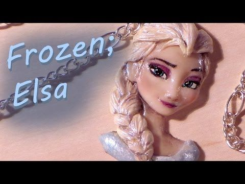 Polymer Clay; Elsa from Frozen << HOW ON EARTH DOES ONE DO THIS @Jill Meyers Meyers Yegerlehner
