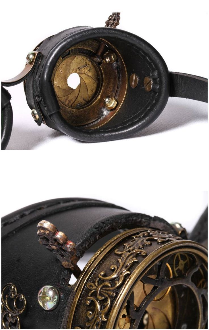 photo n°4 : Goggles steampunk RQ-BL 'raptor'                                                                                                                                                                                 Plus