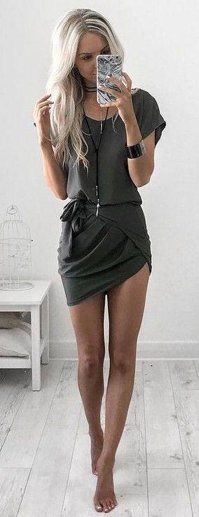 #summer #style |Runway Scout T-shirt Dress