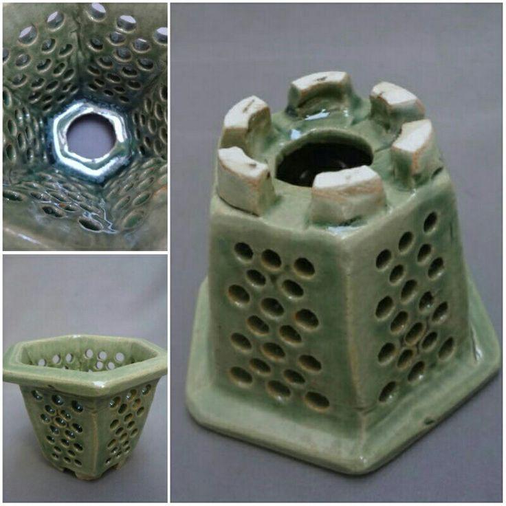 'Sukahi' japanese orchid pot made of ceramic - etsy.com