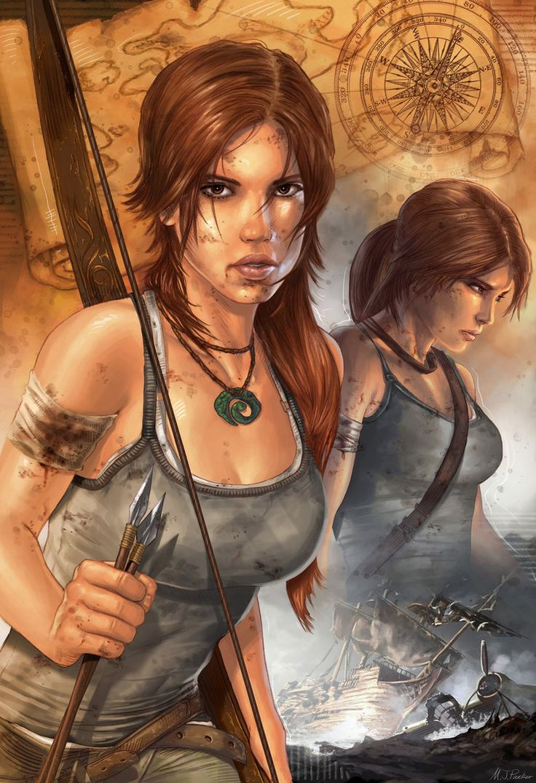 Lara Croft - Tomb Raider - Mike Packer