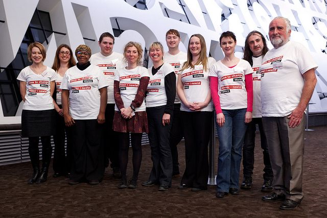 The TTCW team & champs at the launch in February 2012.