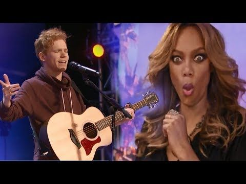 """MUST WATCH! He Shocked the Judges With His """"Hurt""""! Standing Ovation! - YouTube"""