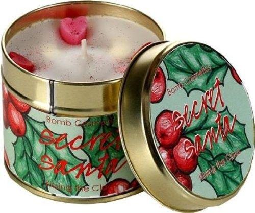 Bomb Cosmetics Secret Santa Tinned Candle