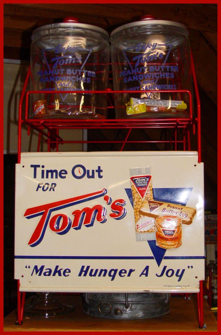 Tom S 4 Jar Rack Set With Original Tom S Snacks In Jars