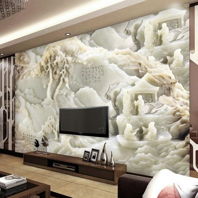 Las 25 mejores ideas sobre papel tapiz 3d en pinterest for Papel decorativo pared