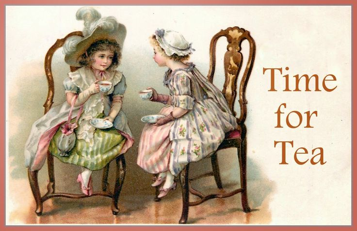 Magic Moonlight Free Images: Free image for You! Time for Tea!