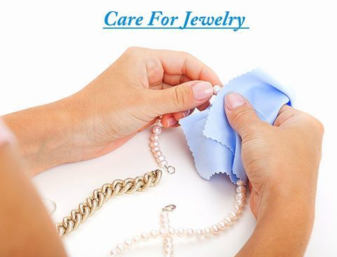 Regular cleaning will keep your #jewelry in gleaming condition and always ready to sparkle on that special occasion. #Jewelrycare