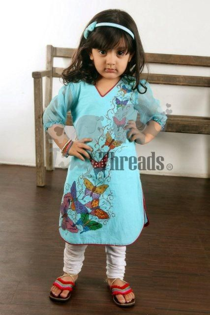 Little Girls kurta designs