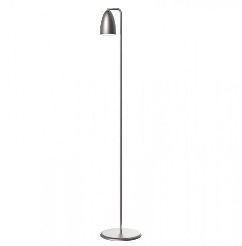 Nordlux Nexus Stehleuchte, 3 W LED Leuchtmittel, GU10, Höhe 145 cm, stahl gebürstet 77294032