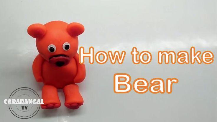 BEAR TUTORIAL HOW TO MAKE A BEAR / BERUANG TUTORIAL CARA MEMBUAT BERUANG...