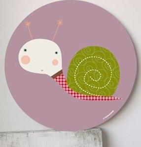 Cute for applique - Image of Cuadro infantil Colcol- Colcol wall art