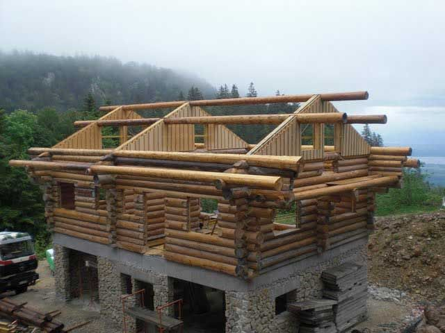 17 best images about log cabins on pinterest post and for Log construction