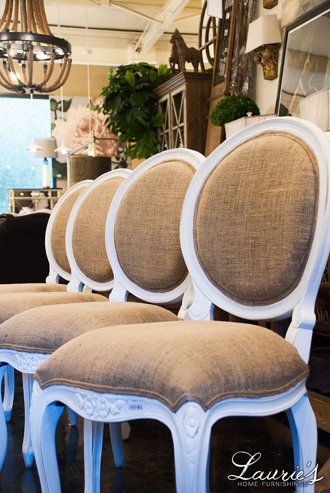 "I really like the style of these chairs - classic and elegant - as they go with the whole ""fairy tale"" look, and match some of the framed couches"